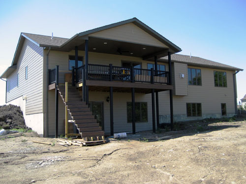 Picture 9 of 17, newly residental development build by Overweg Construction.