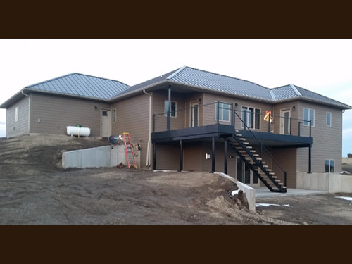 Picture 11 of 17, newly residental development build by Overweg Construction.