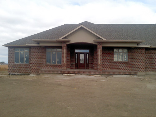 Picture 16 of 17, newly residental development build by Overweg Construction.